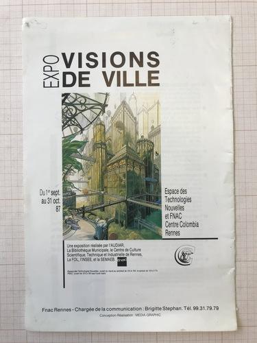 Visions de Ville© François Schuiten, 1987