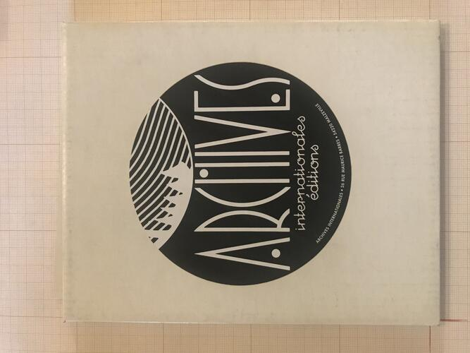Archives Internationales Editions© François Schuiten, 1993