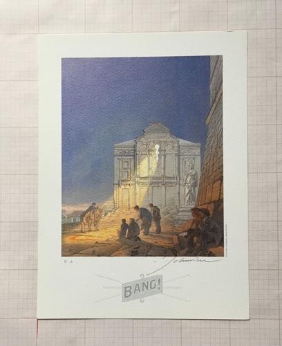 Le Théâtre des images - Bang© François Schuiten, 2003