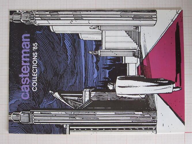 Casterman collection'85© François Schuiten, 1985