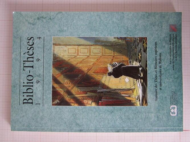 Biblio-Thèses 1994© Collectif, 1994