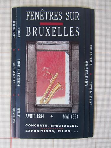 Fenêtres sur Bruxelles© François Schuiten, 1994