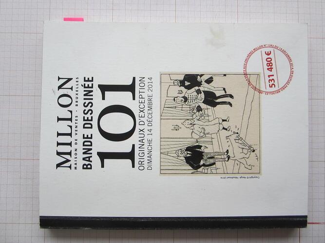 Bande dessinée. 101 originaux d'exception© Alain Huberty / Marc Breyne, 2014
