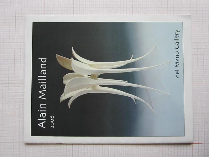 Catalogue Alain Mailland© Alain Mailland, 2006