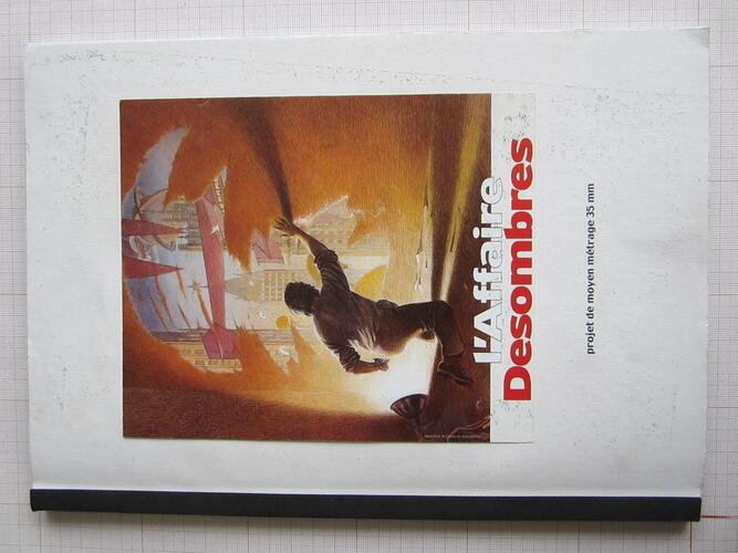 L'Affaire Desombres© François Schuiten / Benoît Peeters / Bruno Letort , 2001