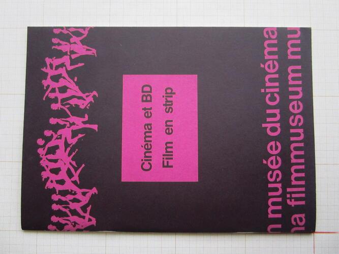 Cinéma et BD. Film en strip© Cinematek, 1996
