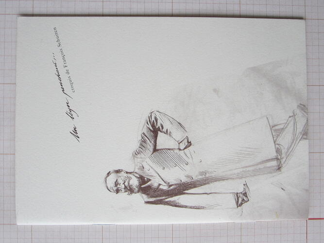 Un léger penchant... croquis de François Schuiten© François Schuiten / Schlirf Book, 1996