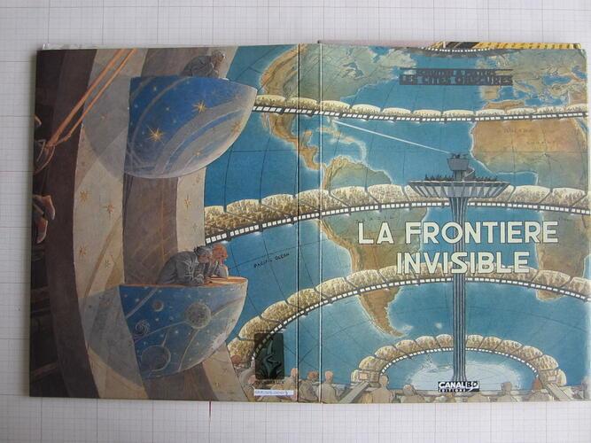 La Frontière Invisible© Canal BD, 2002