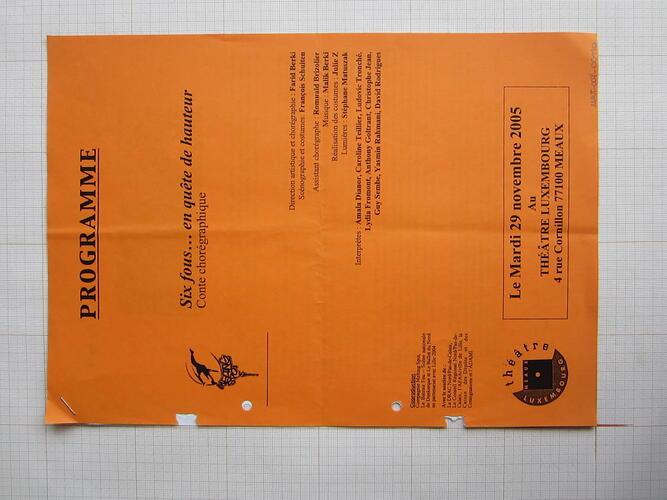 Six fous ... en quête de hauteur© Théâtre de Meaux (FR), 2005
