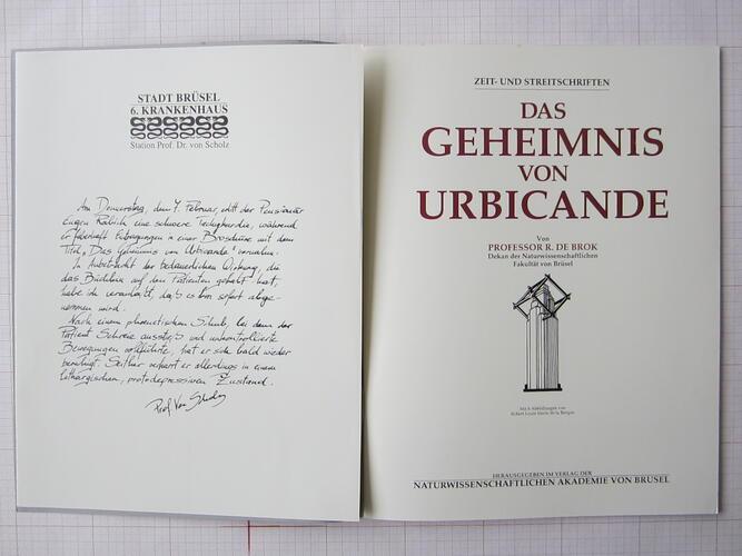 Das Geheimnis von Urbicande© François Schuiten / Benoît Peeters