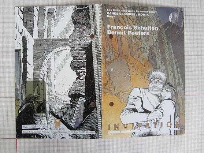 Les Cités obscures. François Schuiten Benoit Peeters© François Schuiten , 1999