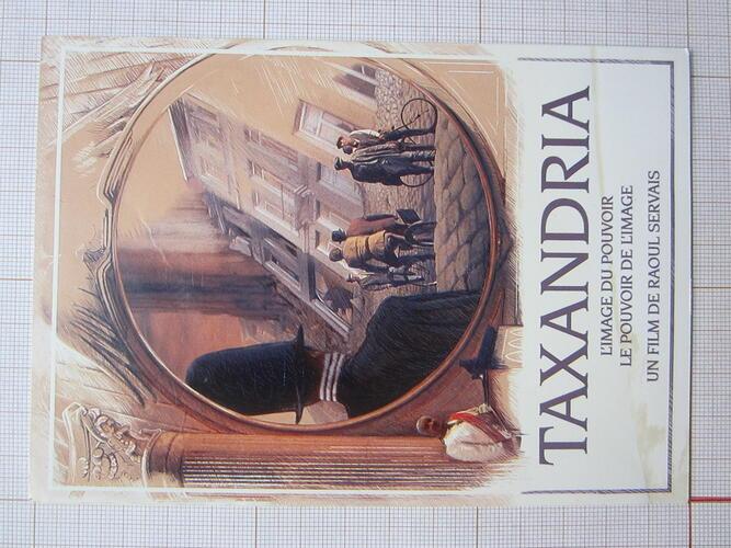 Carte postale Taxandria© François Schuiten, 1995
