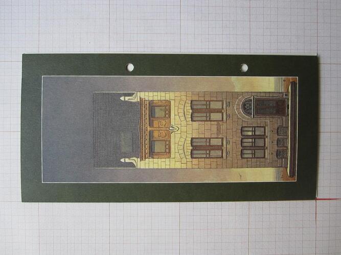 Invitation ouverture de la Maison Autrique© François Schuiten / Maison Autrique , 2004