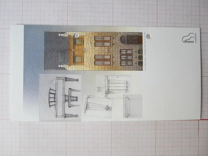 Carte voeux 2003© François Schuiten / Kaufmann, 2003