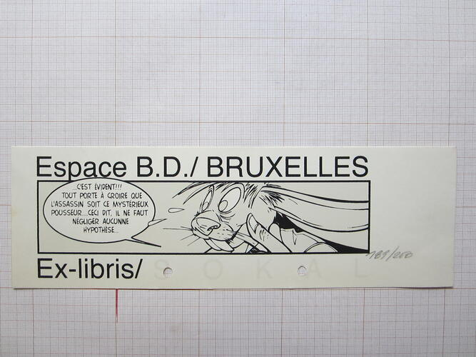 Ex-Libris Sokal© Benoît Sokal