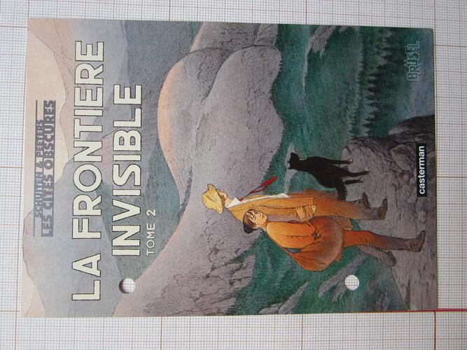 """Carte postale """"La Frontière Invisible - Tome 2""""© François Schuiten, 2004"""
