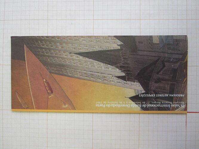 IX Salao Internacional de Banda Desenhada do Porto© François Schuiten, 1997