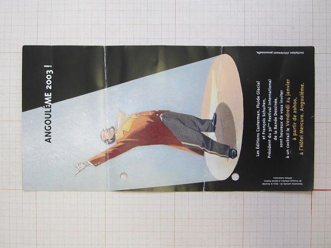 Angoulême 2003!© Casterman / Fluide Glacial / Schuiten, François, 2003