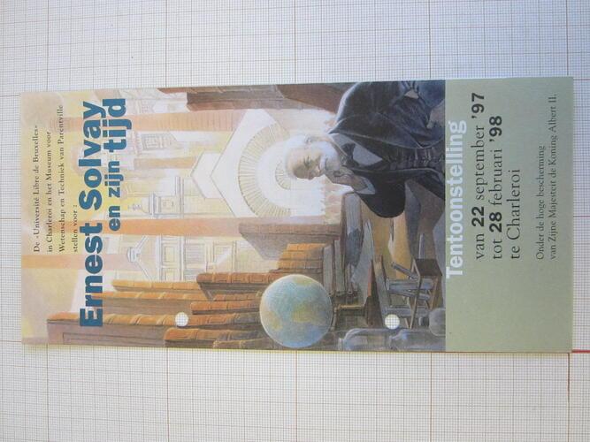Ernest Solvay et son temps© François Schuiten, 1997