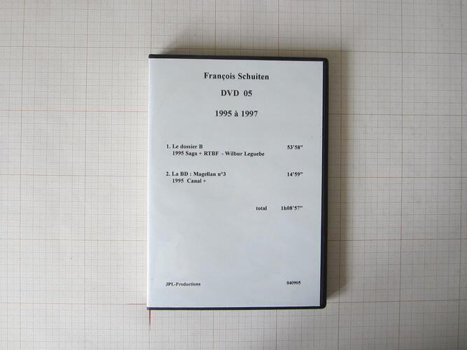 François Schuiten DVD 05+07 1995 à 1997 - JPL-Productions© Maison Autrique, 1997
