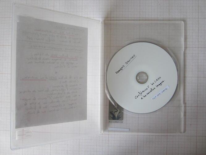 Cycle de conférences. François Schuiten à l'UCL : les lieux et les nouvelles images© Maison Autrique, 2008