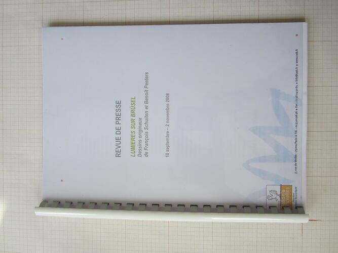 Revue de presse - Lumières sur Brüsel© François Schuiten, 2008