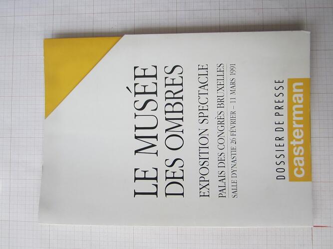 Dossier de presse - Le Musée des Ombres© François Schuiten, 1991