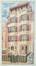 Dessin pour un immeuble de rapport avenue Emile Demot à Bruxelles