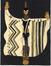 Projet costume pour l'Orestie de Milhaud par Akarova<br>(Marguerite Acarin), Akarova