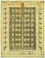 Plan de façade d'un immeuble de la Prévoyance Sociale rue Crickx à Anderlecht<br>Brunfaut, Fernand / Brunfaut, Maxime