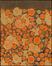 Fragment de papier peint de la villa de B. à Campo à Auderghem de Louis-Herman De Koninck<br>De Koninck, Louis-Herman