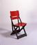 Prototype de chaise pliante<br>Pompe, Antoine