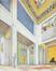 Projet de Grand hall de réception pour l'Académie des Beaux-Arts de Bruxelles<br>Brunfaut, Maxime