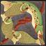 Projet de motif de poissons pour papiers peints<br>Sneyers, Léon