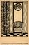 Carte publicitaire pour sa maison de décoration L'Intérieur<br>Sneyers, Léon