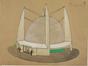 Dessin pour un projet de Planetarium pour l'Exposition universelle de 1935 <br>Van Nueten, Charles