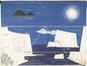 Dessin pour un projet de pont réalisé pour l'atelier Zavaroni à l'Ecole supérieure des beaux-arts de Paris<br>De Meutter, Charles