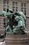 Les Arts d'Agrément (socle lampadaire rampe droite grand escalier)<br>Puttemans, Auguste / Van Aerschodt, Alphonse