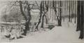 Le Vieux Château Vert en hiver<br>Blieck, Maurice Emile