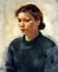 Portrait d'Émilie<br>Devos, Leon