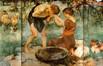 La fontaine d'amour (triptyque)<br>Richir, Herman