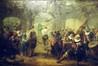 Guilde d'arbalétriers en temps de paix<br>Markelbach, Alexandre