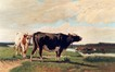 Vaches en pâture<br>Robbe, Louis