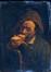 Man die eet een boterham<br>Anonyme,