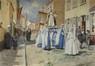 La procession du 15 août à Heist-sur -mer<br>Verhas, Jan