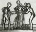 Les époux présentant leur enfant à la commune<br>Vandevoorde, Georges