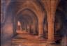 La crypte du château des Comtes à Gand