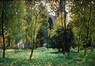 Automne (cimetière) [de herfst (begraafplaats)]<br>Wolles, Camille