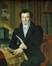 Portrait du bourgmestre Herman<br>Francois, Ange