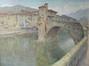 Le vieux pont de Sospel (De oude brug van Sospel)<br>Leduc, Paul